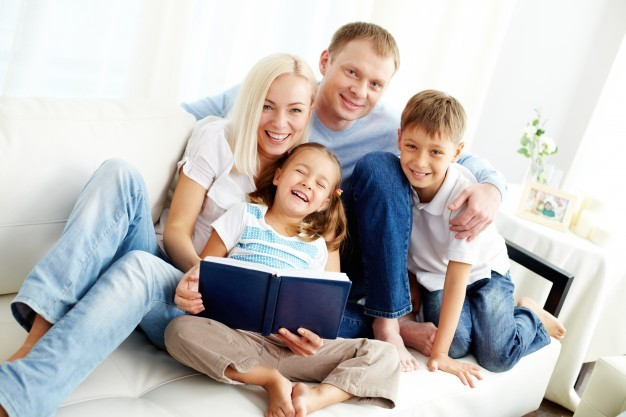 happy-family-reading-a-book_1098-1493 Home